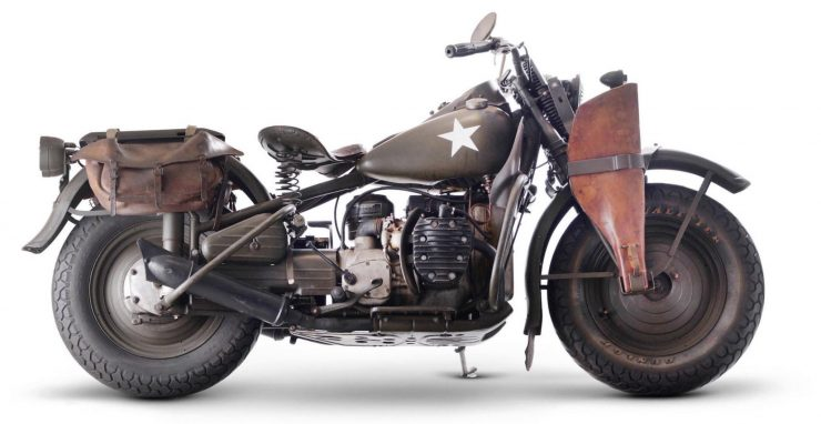 Harley Davidson Military Motorcycle
