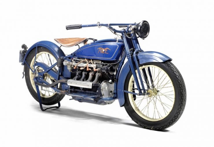 Henderson Ace Inline 4 Cylinder Motorcycle