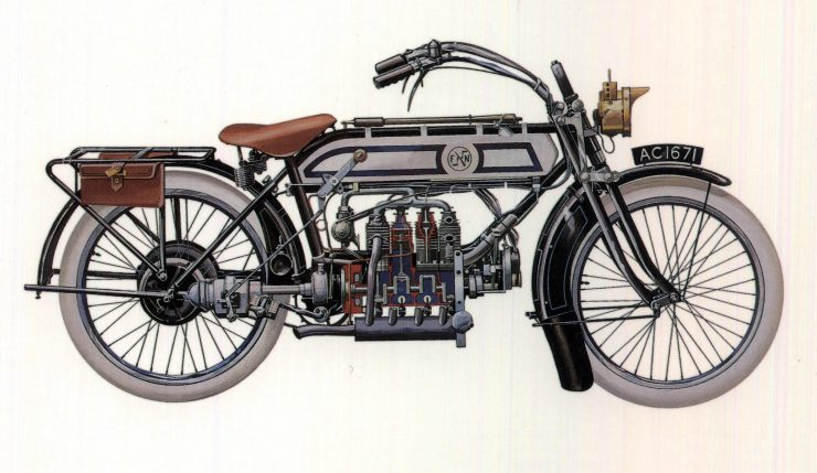 FN Inline 4 Cylinder Motorcycle