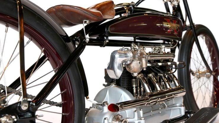 Excelsior Inline 4 Cylinder Motorcycle