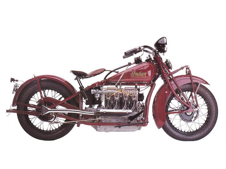Indian Inline 4 Cylinder Motorcycle