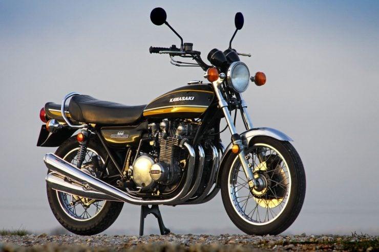 Kawasaki Z1 Inline 4 Cylinder Motorcycle