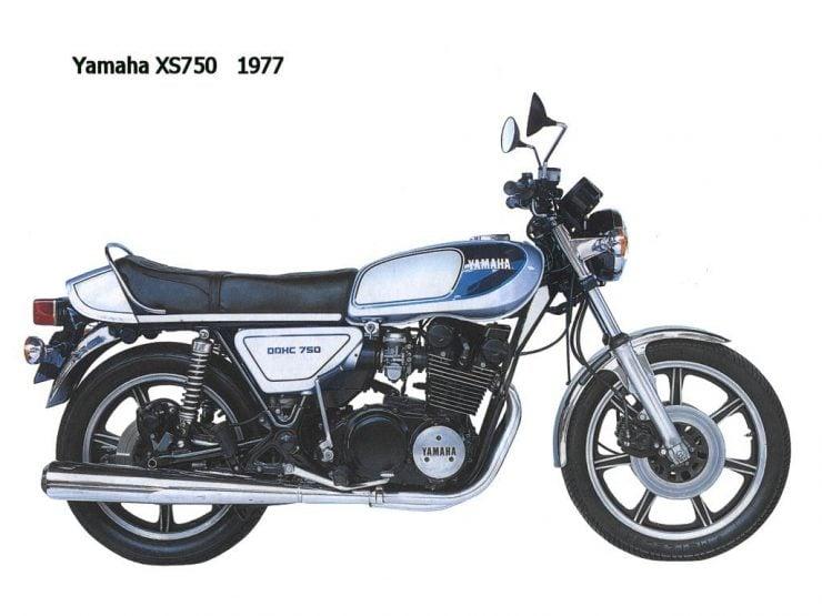 Yamaha XS750 XS850