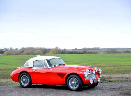 Austin Healey 3000 Works Rally Car 450x330