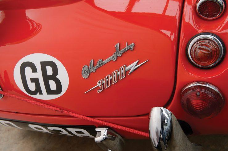 Austin-Healey 3000 Works Rally Car 6