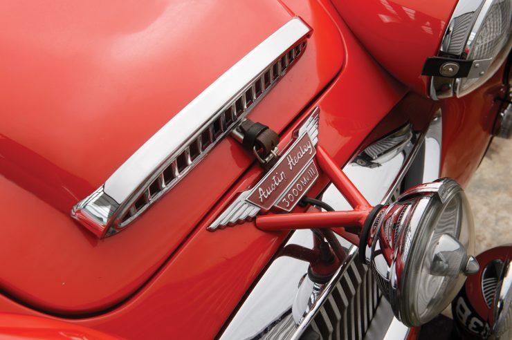 Austin-Healey 3000 Works Rally Car 7