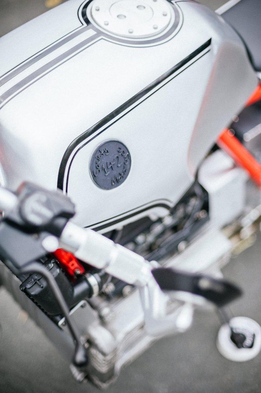 BMW K100 Custom Motorcycle 1