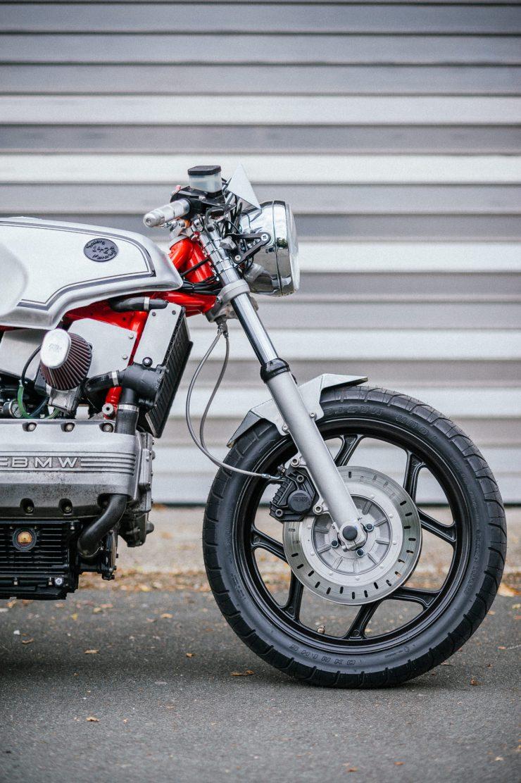 BMW K100 Custom Motorcycle 11
