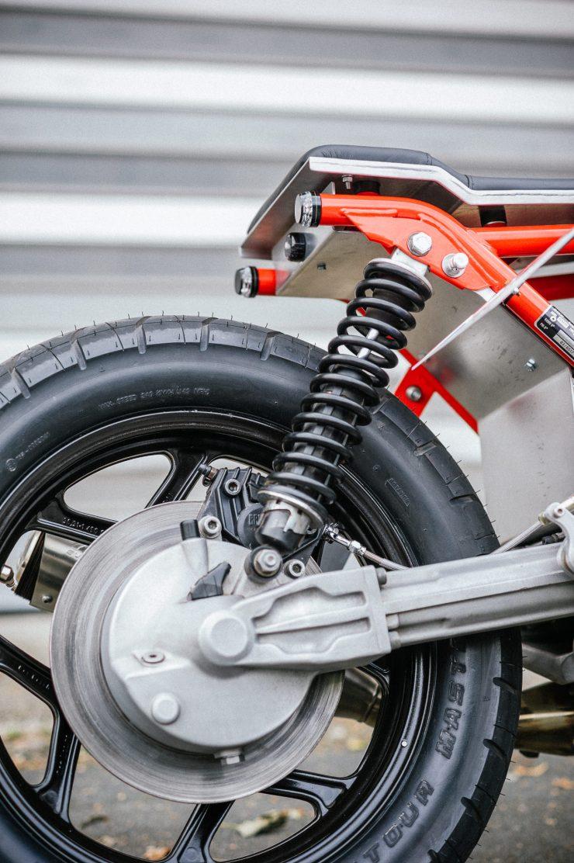 BMW K100 Custom Motorcycle 13