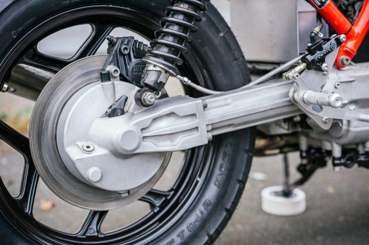 BMW K100 Custom Motorcycle 15