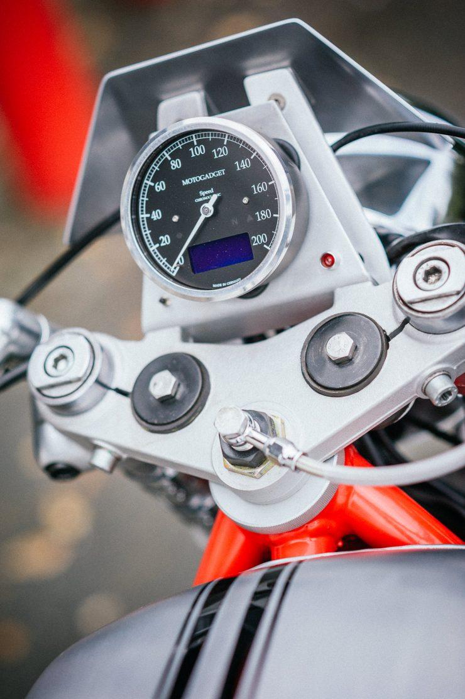 BMW K100 Custom Motorcycle 16