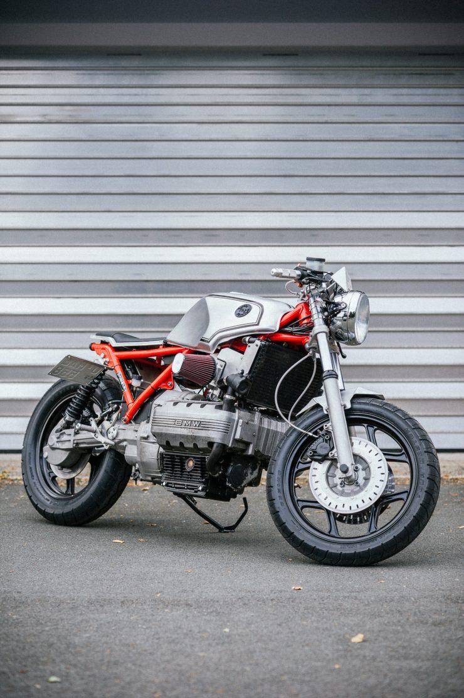 BMW K100 Custom Motorcycle 19