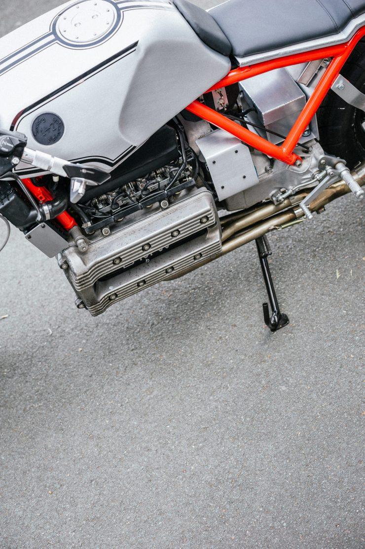 BMW K100 Custom Motorcycle 22
