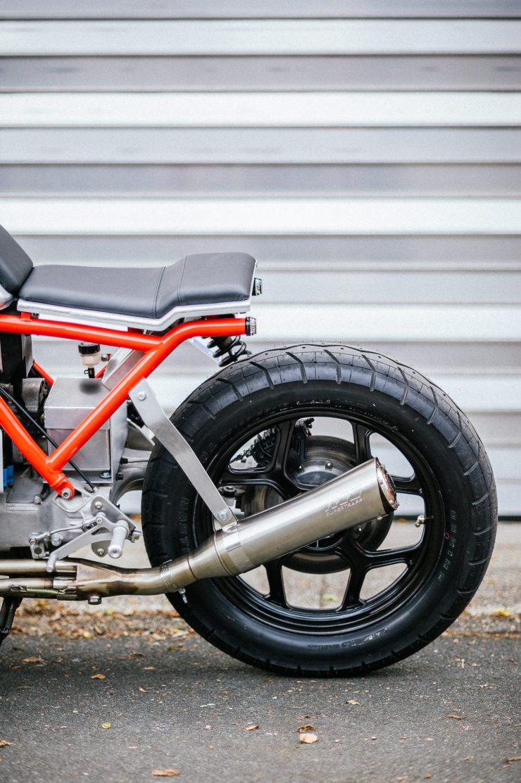 BMW K100 Custom Motorcycle 24