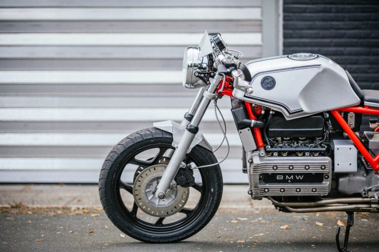 BMW K100 Custom Motorcycle 25