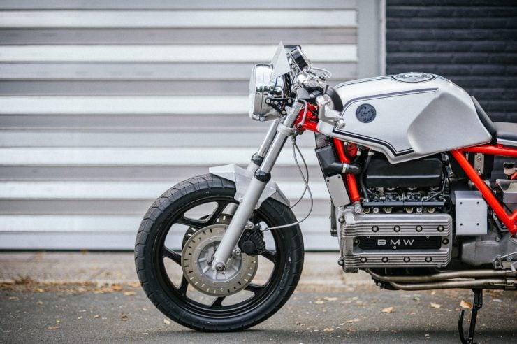 BMW K100 Custom Motorcycle 25