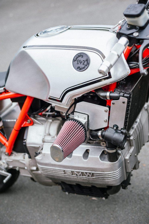 BMW K100 Custom Motorcycle 3'