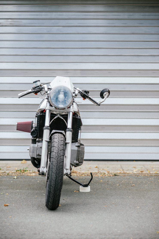 BMW K100 Custom Motorcycle 30