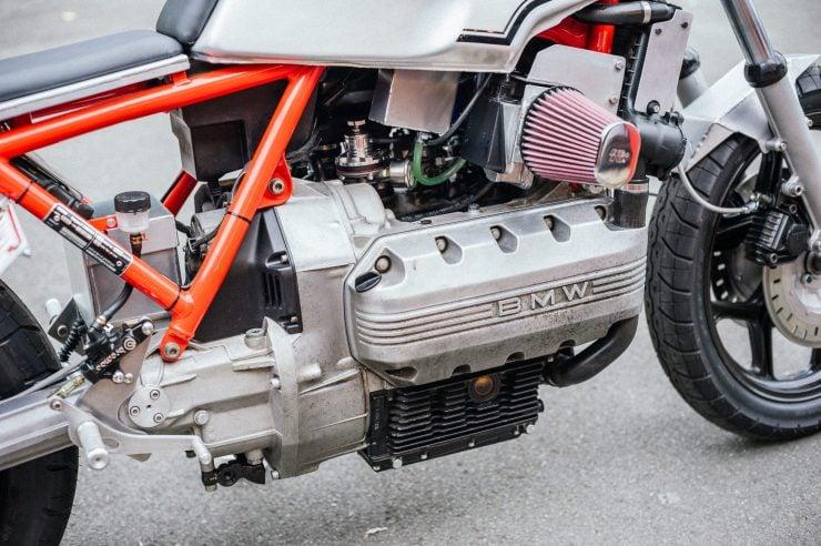 BMW K100 Custom Motorcycle 4