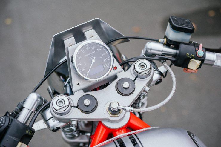 BMW K100 Custom Motorcycle 6