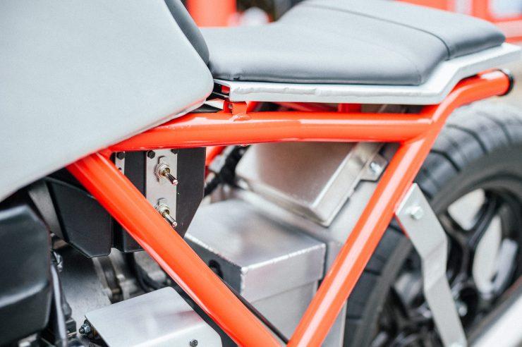 BMW K100 Custom Motorcycle 8
