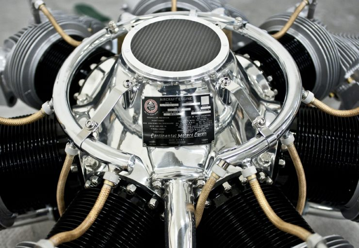Continental Radial Engine Coffee Table 1