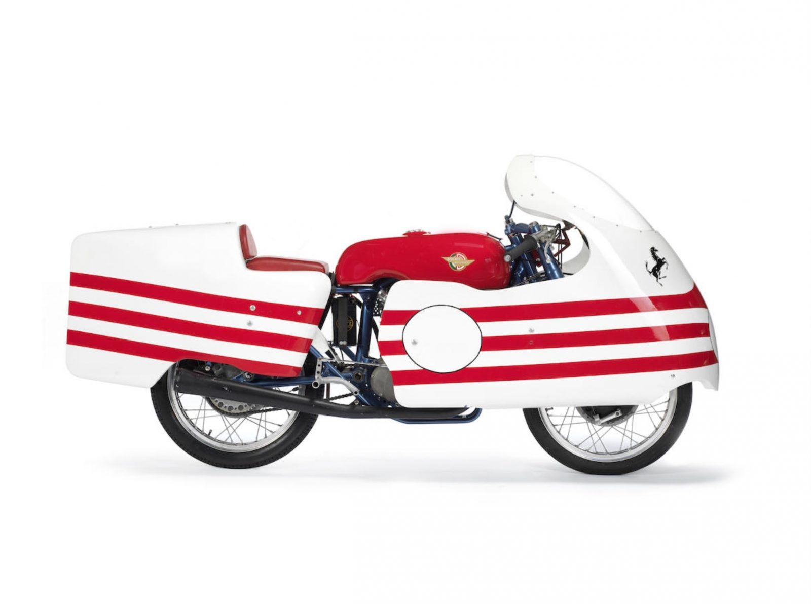The First Desmodromic Ducati - The Trialbero Racer