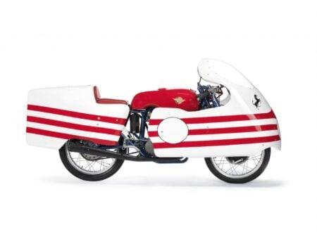 Ducati Trialbero Desmodromic Racing Motorcycle 450x330