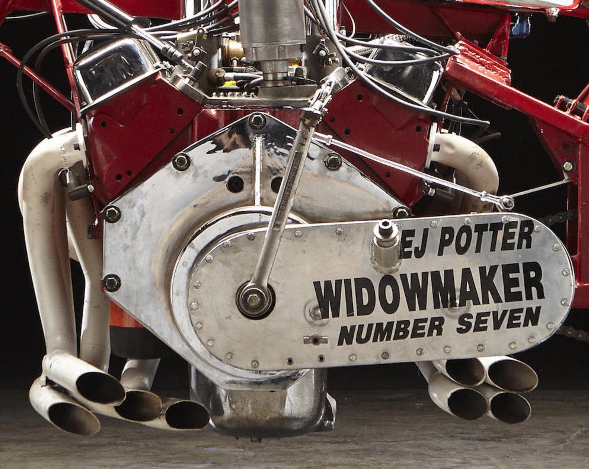 EJ Potter V8 Dragbike Widowmaker 7