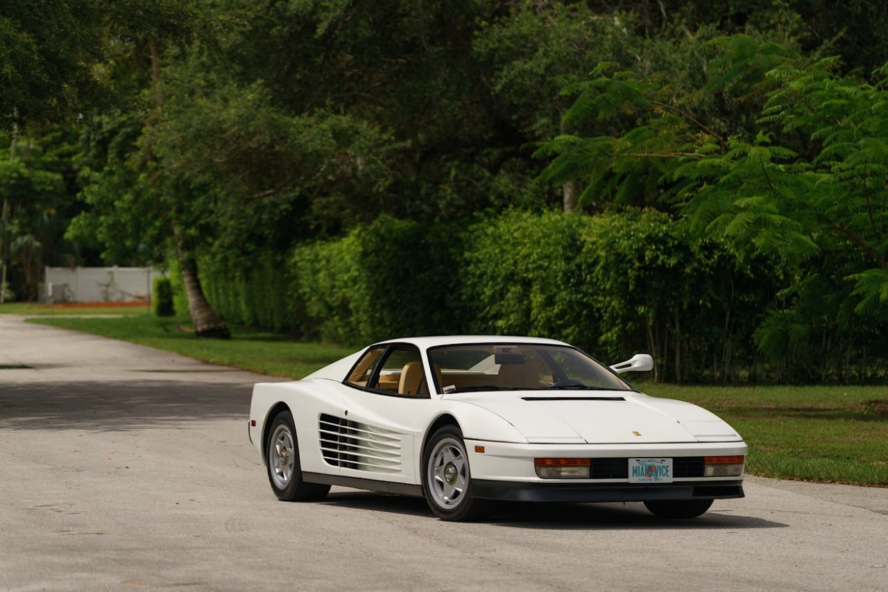 The Miami Vice Ferrari Testarossa