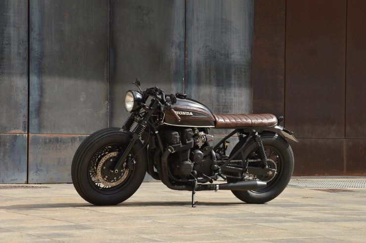 Honda CB750 Brat Style 2