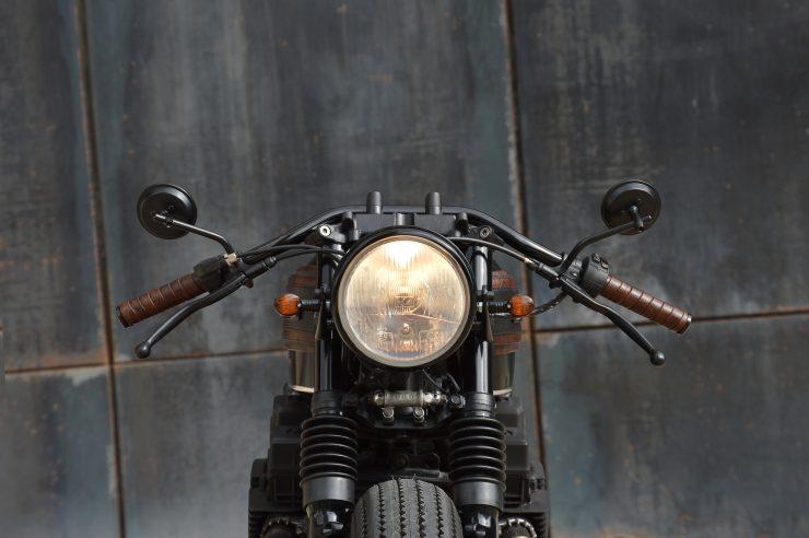 Honda CB750 Brat Style 7