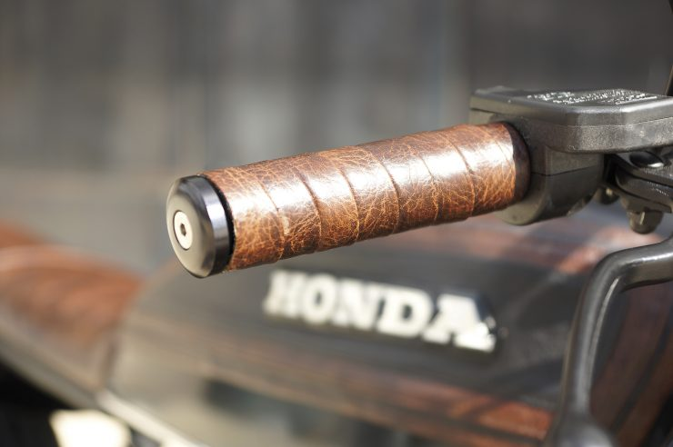 Honda CB750 Brat Style 8