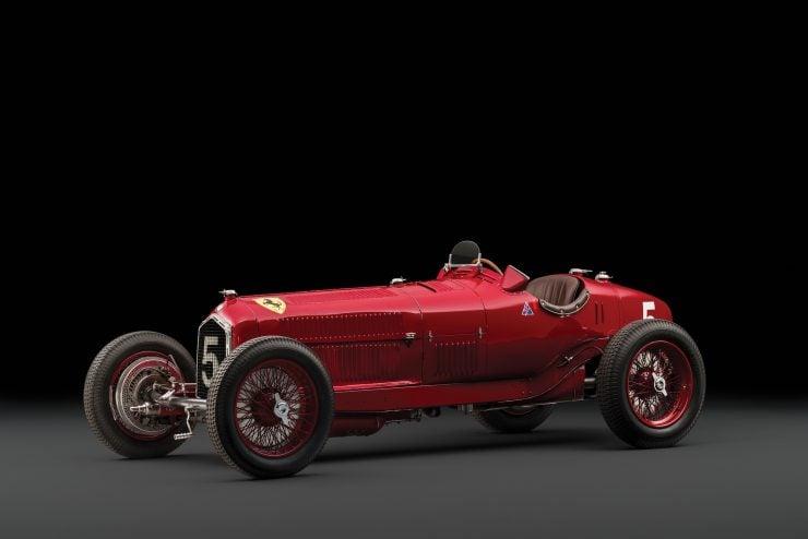 Scuderia Ferrari Alfa Romeo Tipo B P3 1 740x494 - 1934 Scuderia Ferrari Alfa Romeo P3 Tipo B