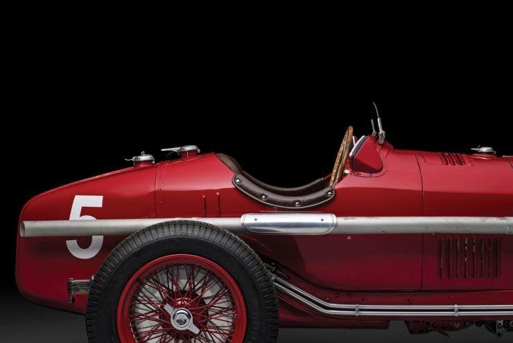 Scuderia Ferrari Alfa Romeo Tipo B P3 19 740x494 - 1934 Scuderia Ferrari Alfa Romeo P3 Tipo B