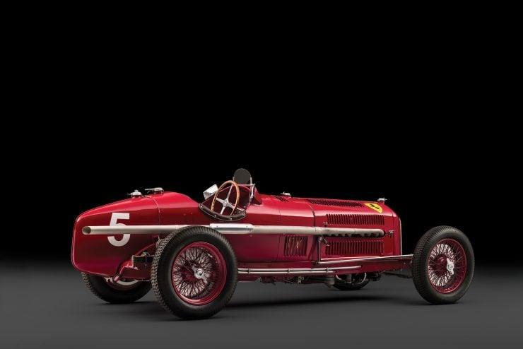 Scuderia Ferrari Alfa Romeo Tipo B P3 2 740x494 - 1934 Scuderia Ferrari Alfa Romeo P3 Tipo B