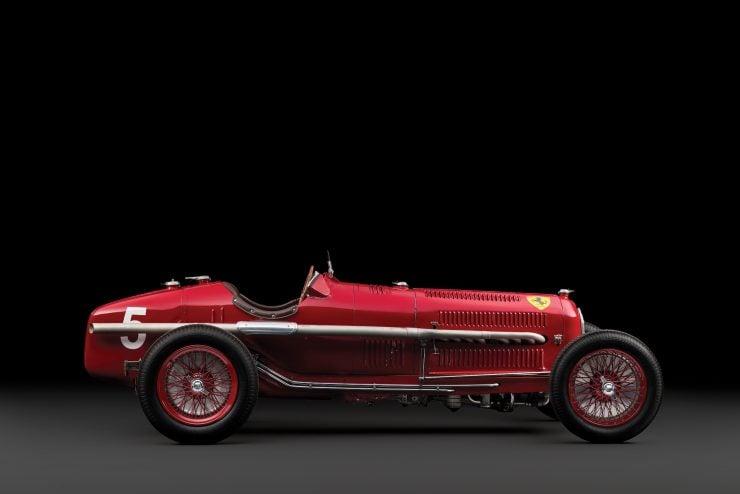 Scuderia Ferrari Alfa Romeo Tipo B P3 5 740x494 - 1934 Scuderia Ferrari Alfa Romeo P3 Tipo B