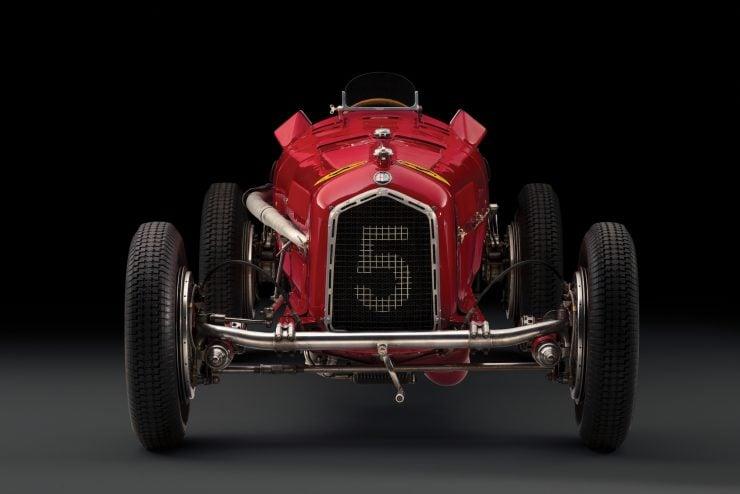 Scuderia Ferrari Alfa Romeo Tipo B P3 7 740x494 - 1934 Scuderia Ferrari Alfa Romeo P3 Tipo B