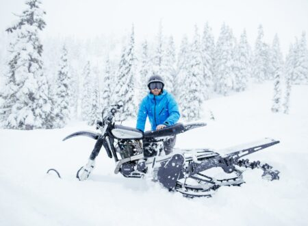 Yamaha HL500 Snow Bike 4 450x330 - The NLO Yamaha XT500 Snow Bike