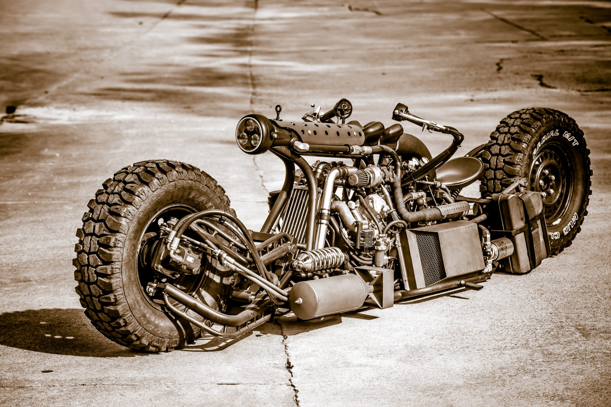 A Brief History Of Diesel Motorcycles