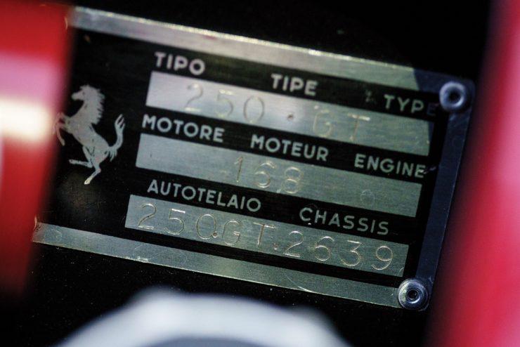 ferrari 250gt swb 21 740x494 - 1961 Ferrari 250 GT SWB
