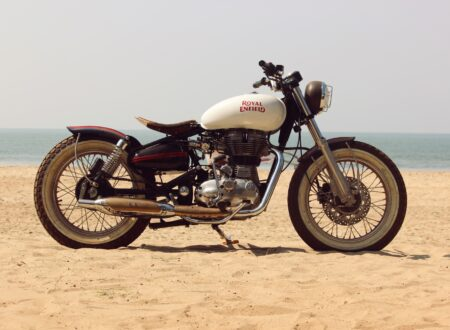 royal enfield motorcycle custom 13 450x330 - Royal Enfield Beach Tracker
