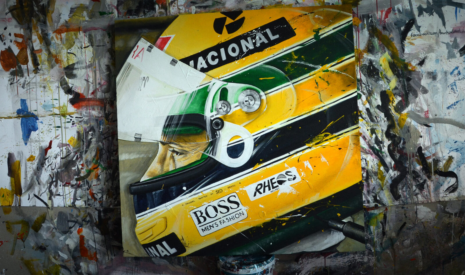 tom havlasek art ayrton senna ii 1600x945 - The Art Of Tom Havlasek