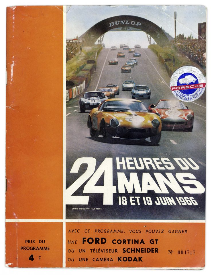 1966 24 Hours of Le Mans Book 740x956 - This Time Tomorrow: 1966 Le Mans Documentary