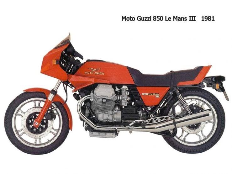 Moto Guzzi 850 Le Mans II 850 Le Mans III