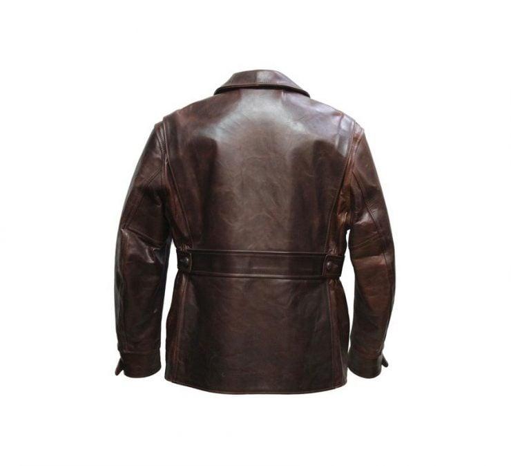 Aero Leather Northeaster Jacket Back 740x674 - Aero Leather Northeaster Jacket
