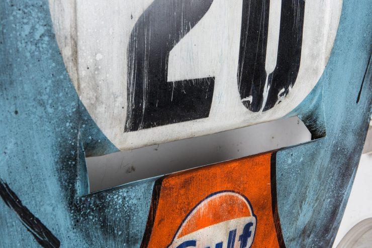 After The Race Porsche Hood Art 3 740x493 - Gulf Porsche Hood Art by After The Race