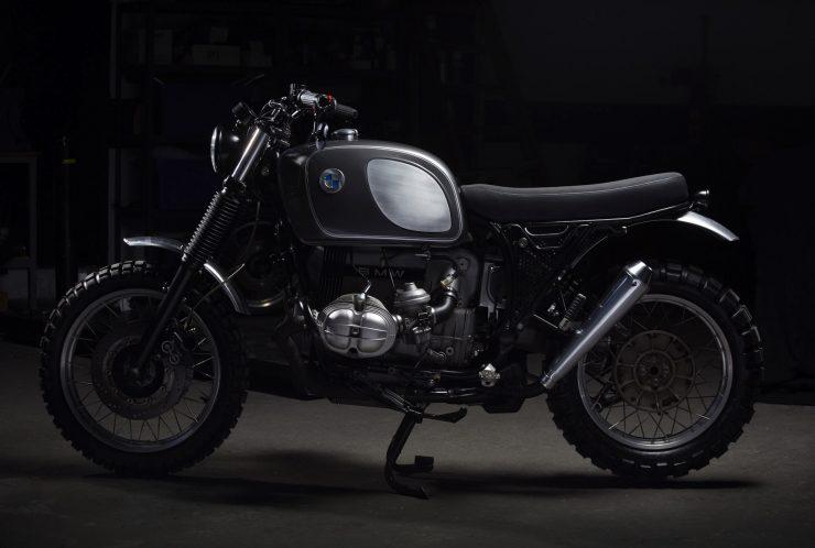 BMW R100 1 740x498 - Fuel Motorcycles BMW R100R Silverback