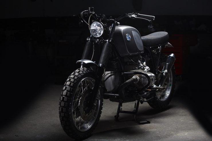 BMW R100 11 740x493 - Fuel Motorcycles BMW R100R Silverback