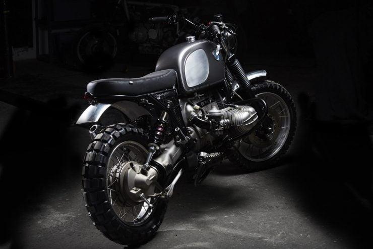 BMW R100 13 740x493 - Fuel Motorcycles BMW R100R Silverback